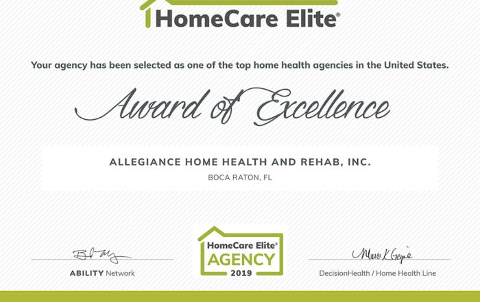 HomeCare-Elite-2019-Allegiance