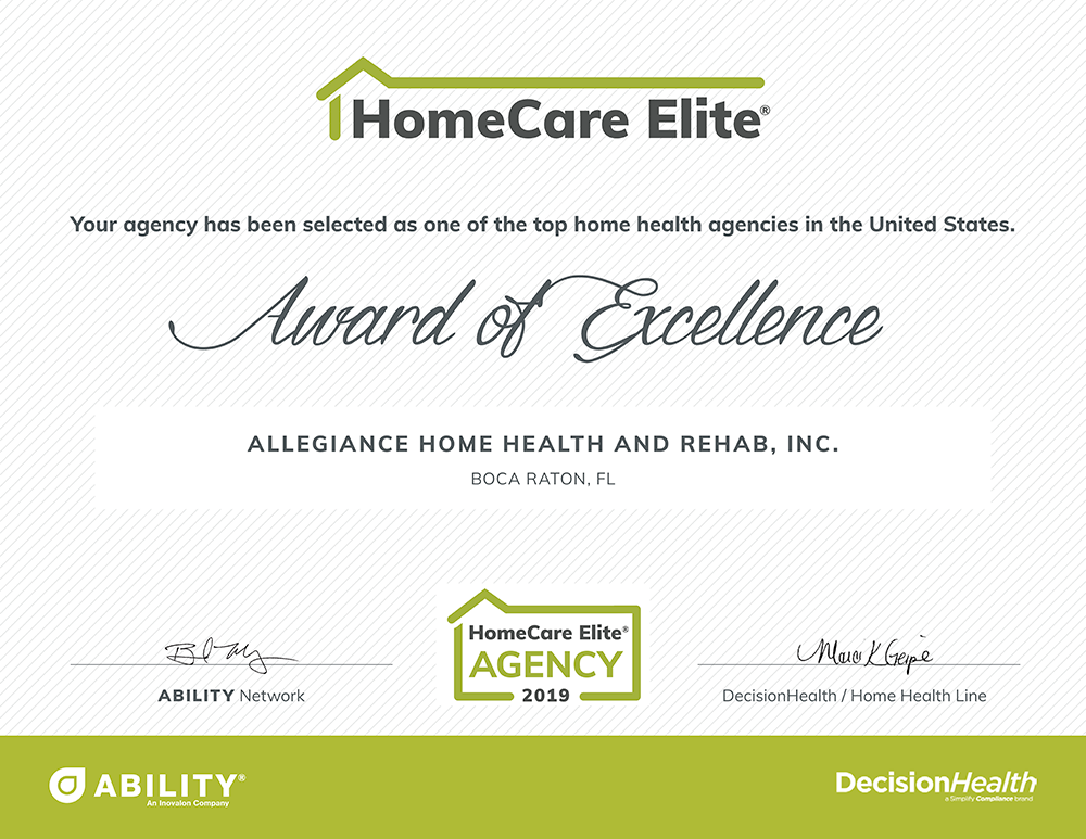 HomeCare-Elite-2019-Allegiance