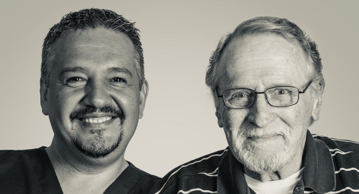 Black & White Caregiver &Patient