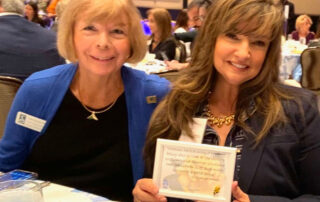 Connie Siskowski, AACY Founder and President and Rosie Inguanzo-Martin, Allegiance Home Health CEO and President
